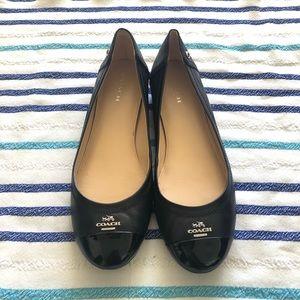 Coach - Black Flat Shoes